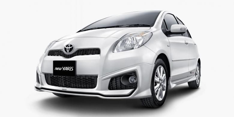 Production de Toyota Yaris en 2008, incluse dans la liste de rappel.