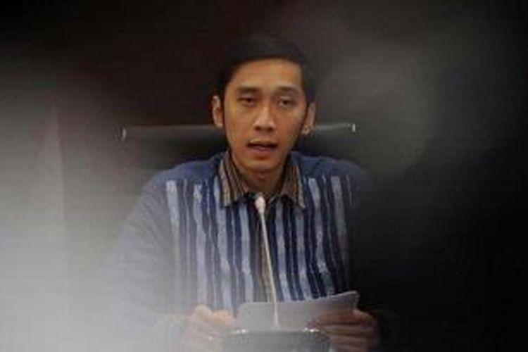 Sekretaris Jenderal Dewan Pimpinan Pusat Partai Demokrat Edhie Baskoro Yudhoyono