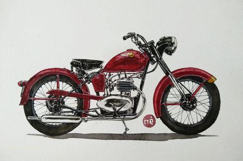 Indian Brave Motor Klasik Amerika Rasa Inggris