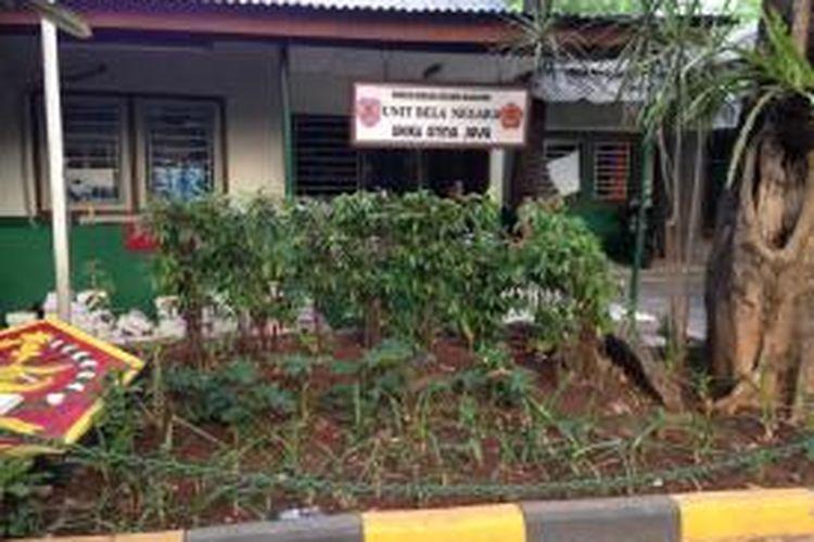 Pos Unit Bela Negara atau Menwa di Universitas Katolik (Unika) Atmajaya, Jakarta.