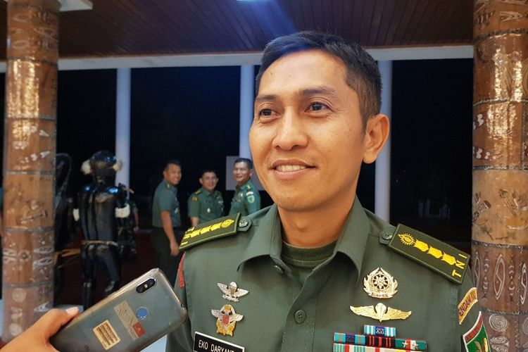 Kapendam XVII/Cenderawasih Kolonel Cpl Eko Daryanto