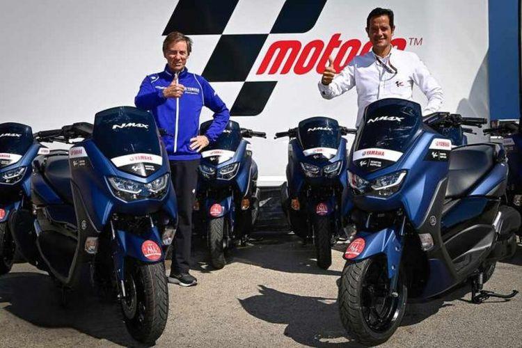 Yamaha Nmax 125 motor paddock MotoGP