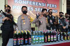 Jelang Tahun Baru, Polres Semarang Sita Miras dan Knalpot Brong