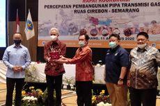 Ganjar Minta Proyek Pipa Gas Cirebon-Semarang Dipercepat