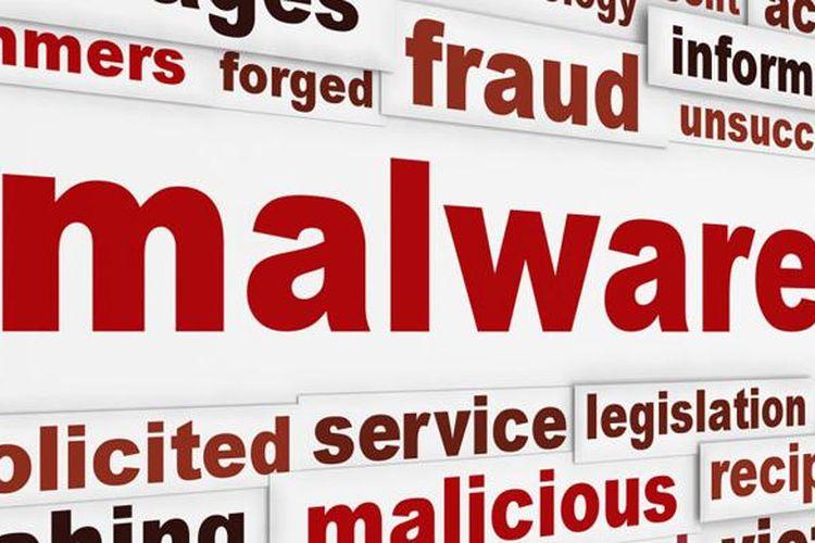 Ilustrasi malware