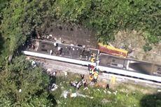 Korban Tewas Kecelakaan Kereta Api di Taiwan Jadi 41 Orang, Ini Dugaan Penyebabnya