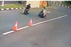 Video Viral Turis Asing Jadi Korban Jambret, Sempat Kejar Pelaku hingga Jatuh dari Motor