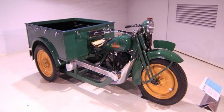Mazda-go, kendaraan pertama yang dibuat oleh Mazda tahun 1931.