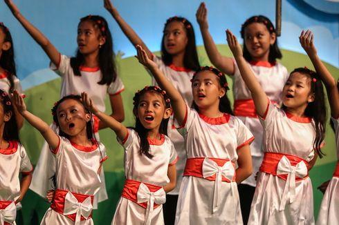 Penampilan Paduan Suara Anak di Dendang Kencana 2017