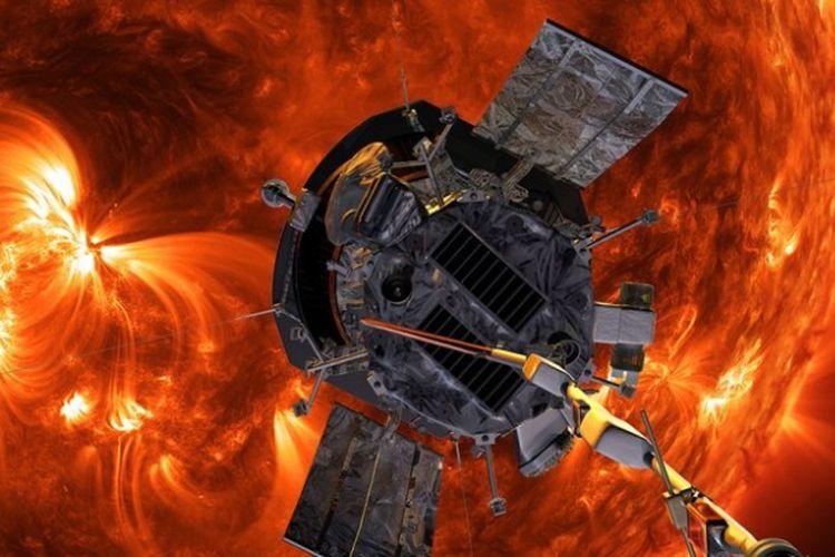 Wahana antariksa Parker berada di posisi terdekat dengan Matahari