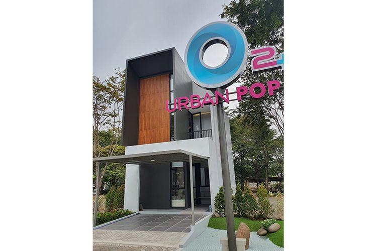 Contoh rumah klaster O2+ Urban Pop