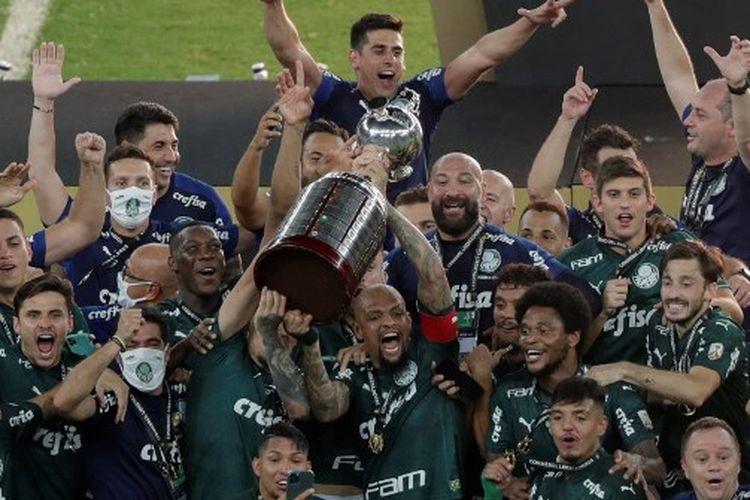 Hasil Final Copa Libertadores, Palmeiras Juara Berkat Gol Menit ke-99