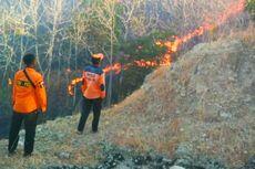 Warga Bakar Daun Kering, 37 Hektare Lahan Gunung Bancak Terbakar