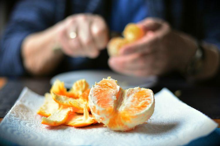 Kulit jeruk untuk mengusir tikus