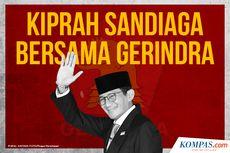 INFOGRAFIK: Kiprah Sandiaga Uno Bersama Gerindra