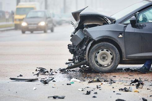 Tabrakan Berujung Mobil Terbakar di Tol Grogol, Pengendara Mercy Jadi Tersangka