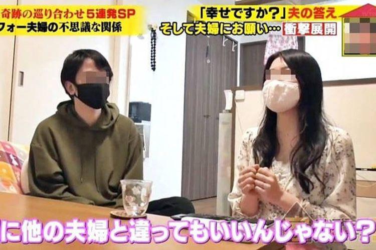 Kazuki (kanan) dan Aiko (kiri), pasangan suami istri di Jepang yang memutuskan untuk membayar tagihan sendiri-sendiri.