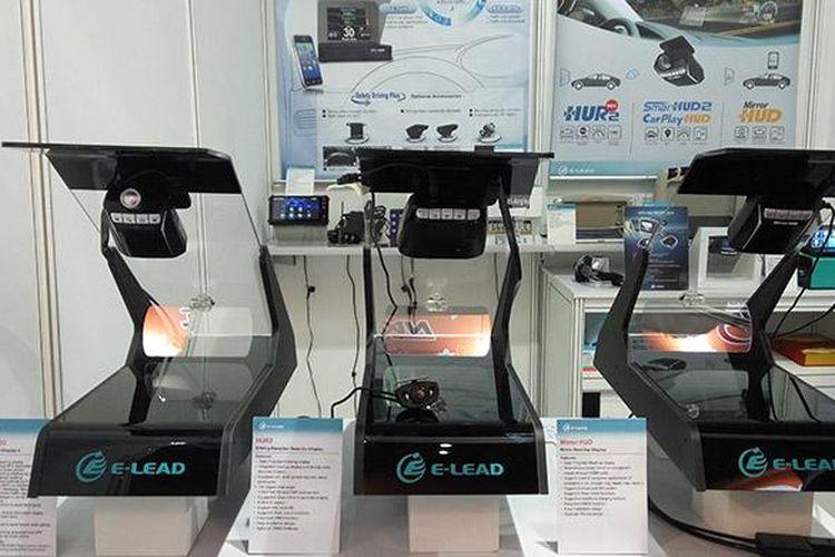 Aksesoris head up display untuk kendaraan di INAPA 2016