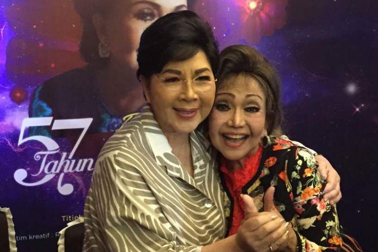 Elly Kasim saat jumpa pers di Rumah Makan Sederhana, di Jalan Juanda, Jakarta Pusat, Kamis (15/6/2017). Ia akan menggelar konser tunggal bertajuk Menjulang Bintang 57 Tahun Elly Kasim Berdendang pada 29 Juli 2017 di Teater Jakarta, Taman Ismail Marzuki (TIM), Jakarta Pusat.