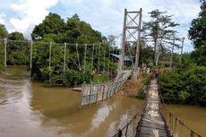 Satu Lagi, Korban Tenggelam Akibat Jembatan Gantung Ambruk Ditemukan Tewas