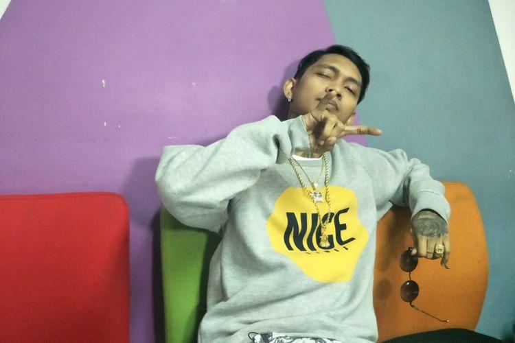 Young Lex saat ditemui di kawasan Tendean, Jakarta Selatan, Senin (25/2/2019).