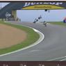 Termasuk Luca Marini, Puluhan Pebalap Jatuh pada Hari Pertama GP Perancis