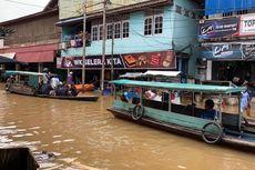 Kabupaten Melawi Kalbar Dikepung Banjir, Lalu Lintas Darat Putus Total