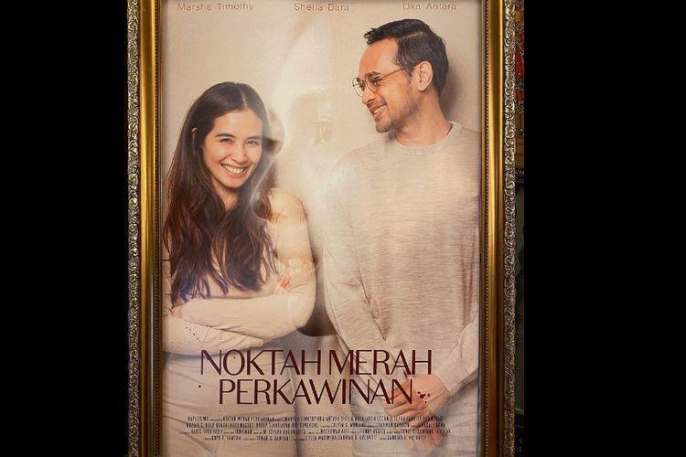 Poster film Noktah Merah Perkawinan.