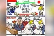 Menjawab Sindiran Komikus Jepang soal Utang MRT Jakarta