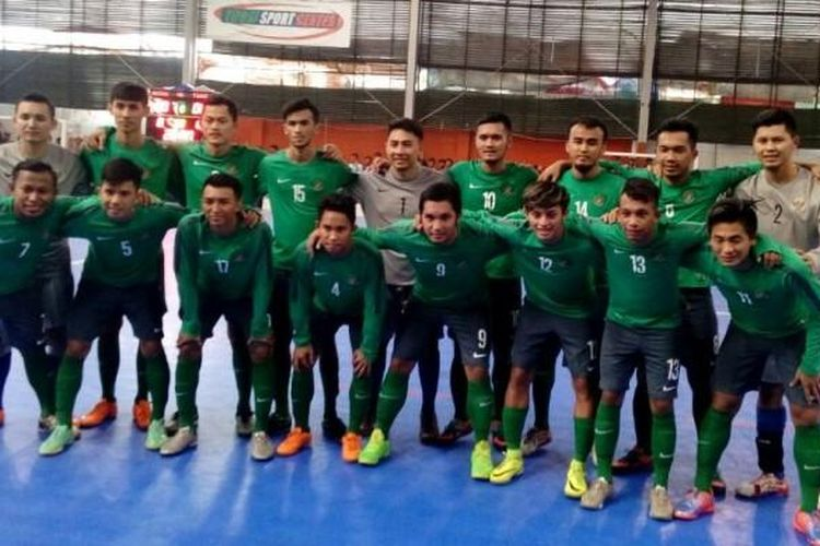 Timnas futsal Indonesia berlaga di Piala AFF Futsal 2016