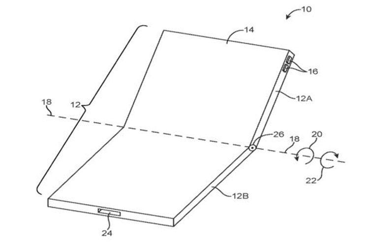 Bocoran konsep iPhone Lipat