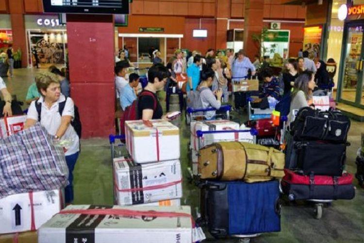 Sebagian penumpang menjual bagasi karena barang bawaanya tidak banyak. (Foto: Ilustrasi)