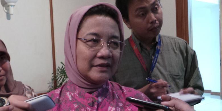 Kepala Dinas Kesehatan DKI Jakarta Dien Emmawati.