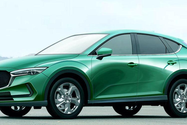 Hasil olah digital Mazda CX-30