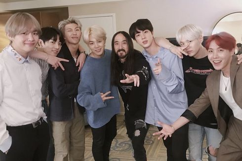 Waste It On Me, Singel Kolaborasi Steve Aoki dan BTS Dirilis