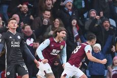 Burnley Vs Leicester, The Foxes Kalah dan Gagal Geser Posisi Man City