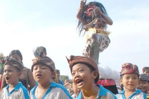 Sambut Nyepi, 60 Ogoh-Ogoh PAUD Ikut Pawai