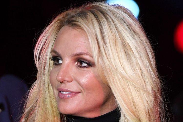 Penyanyi Britney Spears menghadiri pengumuman penampilan tetapnya, Britney: Domination, di Park MGM di Las Vegas, Nevada, pada 18 October 2018. Britney Spears tampil dalam 32 pertunjukan di Park MGM.