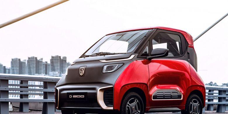 Mobil Listrik Generasi Baru Wuling E200 Siap Dijual