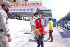 Razia Masker di Pekanbaru, Pelanggar Pilih Alternatif Selain Denda