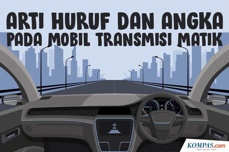Arti Huruf dan Angka pada Mobil Transmisi Matik