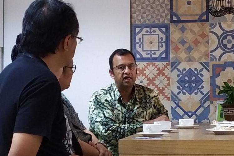 Presiden Direktur PT Unilever Indonesia Tbk (UNVR), Hemant Bakshi