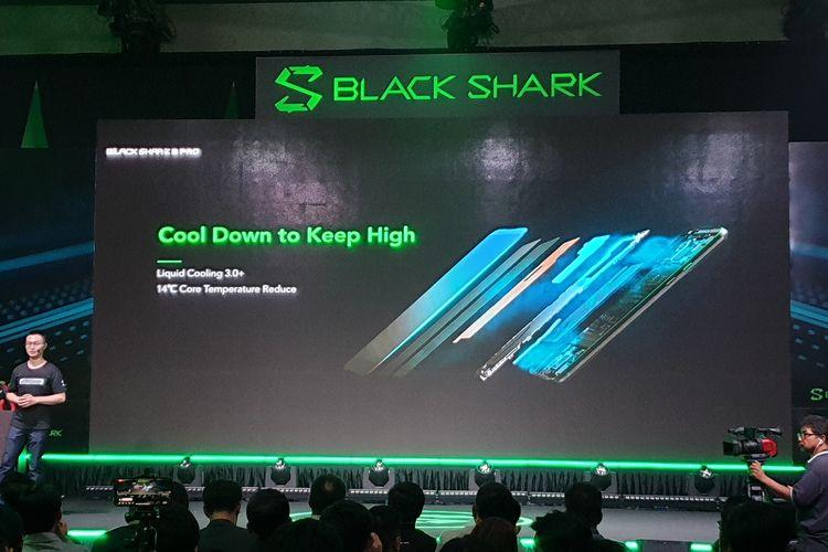 Ilustrasi teknologi Liquid Cooling System Black Shark 2 Pro