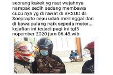 Seorang Kakek Gendong Jenazah Cucunya dan Dibawa Naik Motor, RSUD: Kami Juga Heran...