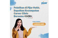 Tingkatkan Talenta Tenaga Kerja Digital, Pijar Mahir dan Codex Bikin Career Clinic