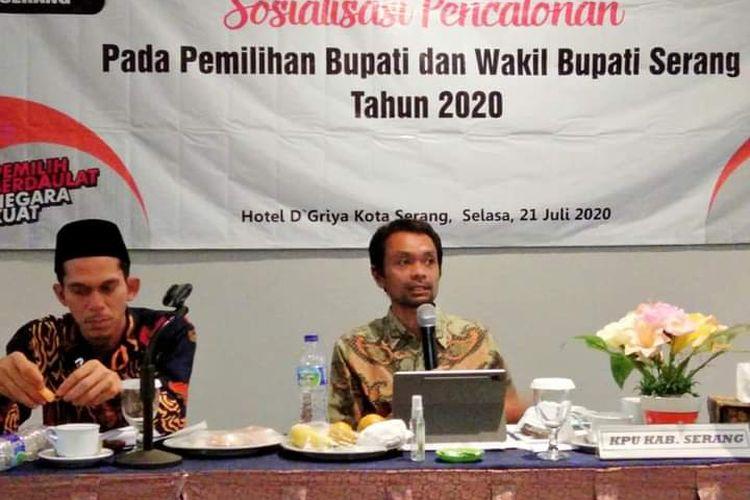 Komisioner KPU Banten Masudi