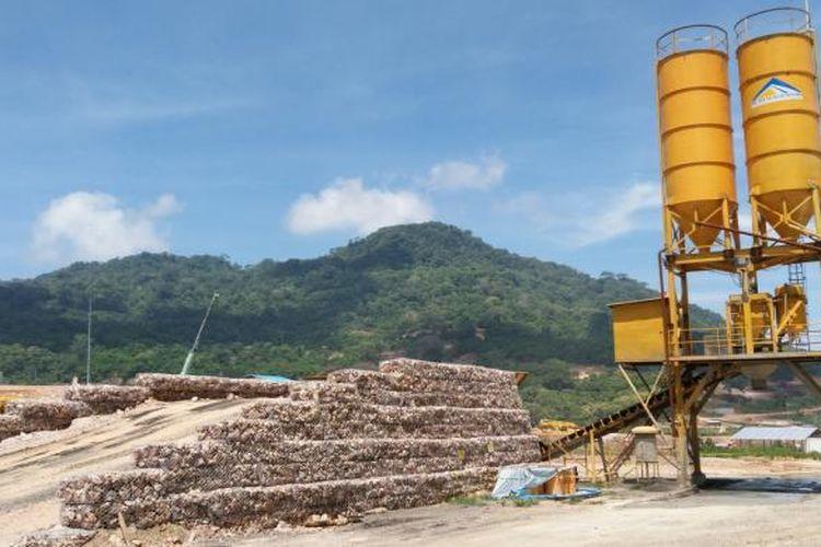 Proyek tambang emas dan mineral PT Bumi Suksesindo (BSI) diwilayah Tumpang Pitu Banyuwangi ditetapkan sebagai objek vital nasional