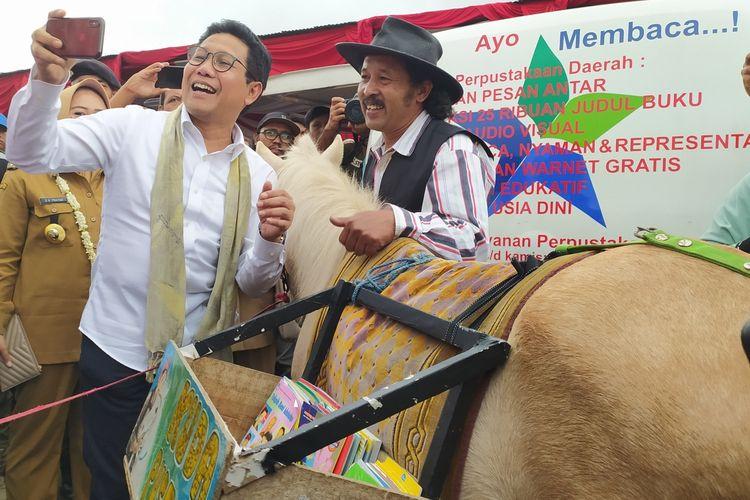 Menteri Desa PDTT melakukan kunjungan kerja di Obyek Wisata DLas Desa Serang, Kecamatan Karangreja, Kabupaten Purbalingga, Jawa Tengah, Selasa (10/3/2020).