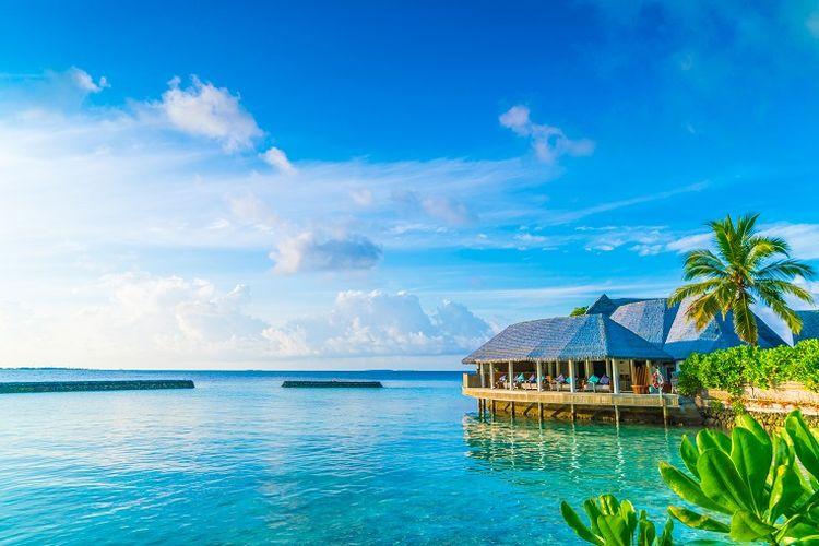 Ilustrasi Maladewa.