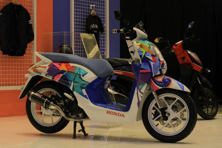 Modifikasi Honda Genio